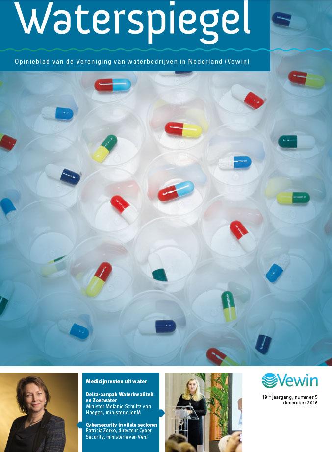 Medicijnresten uit Water - Magazine cover